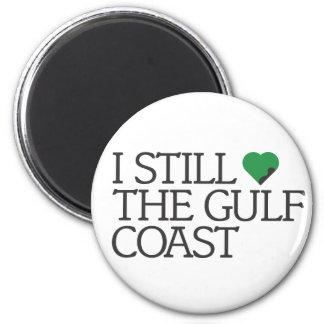 Todavía amo la Costa del Golfo Imán Redondo 5 Cm