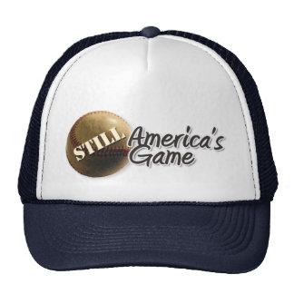 Todavía casquillo del juego de América Gorra