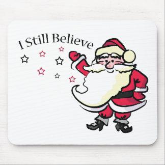 Todavía creo en Santa Mousepad