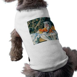 Todavía de Cezanne cortina de la vida, jarra Playera Sin Mangas Para Perro