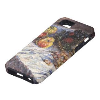 Todavía de Claude Monet vida con las manzanas y iPhone 5 Funda