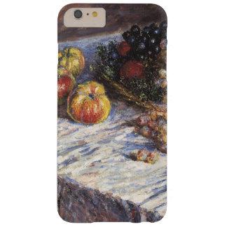 Todavía de Claude Monet vida con las manzanas y Funda Para iPhone 6 Plus Barely There