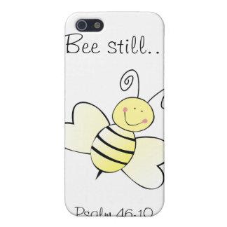 Todavía de la abeja 46:10 del salmo… - caja del te iPhone 5 funda