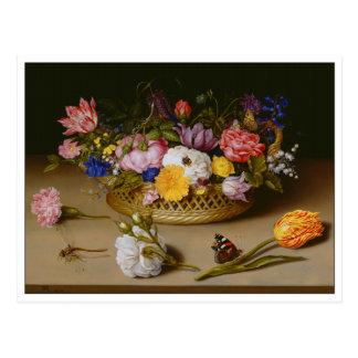 Todavía de la flor vida por Bosschaert Postal