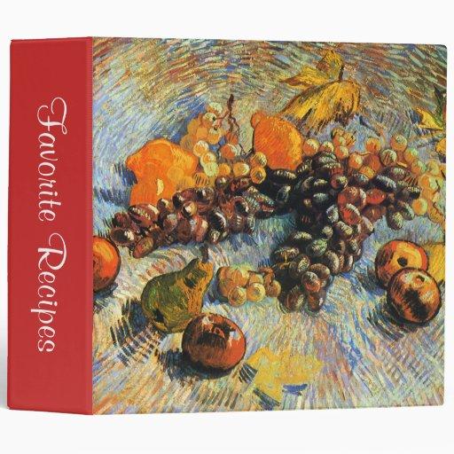 Todavía de la fruta vida, Vincent van Gogh