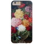 Todavía de las flores pintura antigua elegante funda de iPhone 6 plus barely there