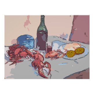 Todavía de los cangrejos vida 1 póster