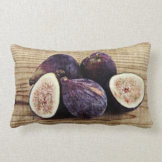 Todavía de los higos vida púrpura deliciosa cojín lumbar