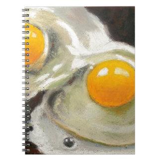 Todavía de los huevos la vida, engrasa el pastel, cuadernos