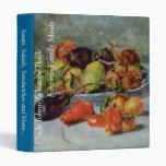 Todavía de Renoir la vida con Fruit mediterránea,