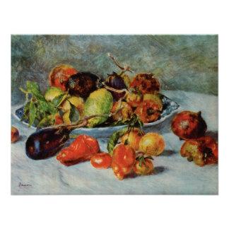Todavía de Renoir la vida con Fruit mediterránea Comunicado Personal
