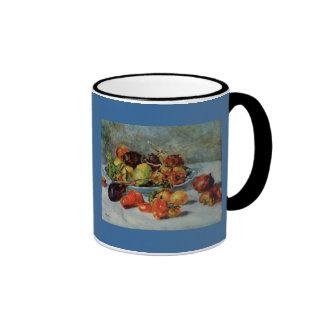 Todavía de Renoir la vida con Fruit mediterránea Taza