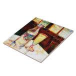 Todavía de Van Gogh ajenjo de la vida (F339) Tejas