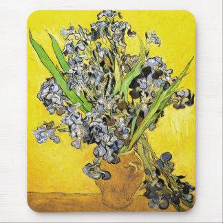 Todavía de Van Gogh florero de la vida, bella arte Tapetes De Ratón
