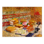 Todavía de Van Gogh novelas francesas de la vida y Postales