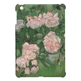 Todavía de Van Gogh rosas rosados de la vida