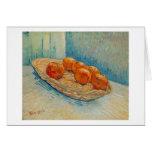 Todavía de Van Gogh vida: Cesta, seis naranjas (F3 Tarjeton