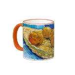 Todavía de Van Gogh vida: Cesta, seis naranjas (F3 Taza