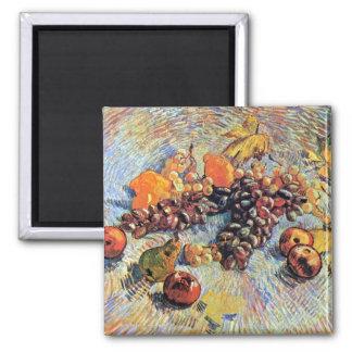 Todavía de Van Gogh vida con el imán de las manzan