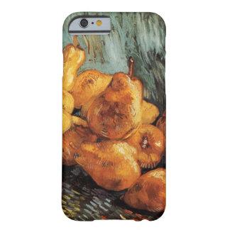 Todavía de Van Gogh vida con las peras del Funda Barely There iPhone 6