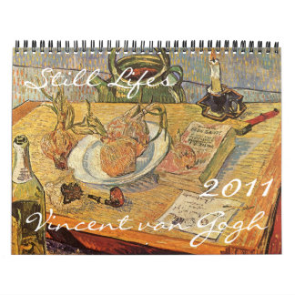 Todavía de Vincent van Gogh calendario Lifes 2011