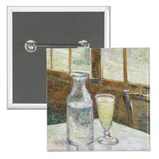 Todavía de Vincent van Gogh vida con bella arte Chapa Cuadrada 5 Cm
