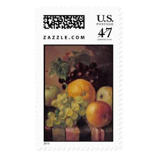 todavía del barnard fruta de la vida w sellos postales