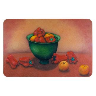 Todavía del imán vida flexible de tomates