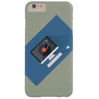 ¡Todavía del vinilo vidas! Funda Para iPhone 6 Plus Barely There