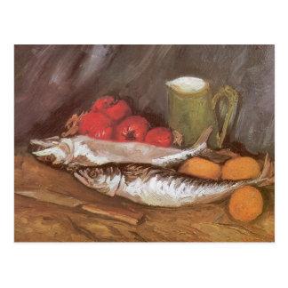Todavía del vintage vida, impresionismo de Vincent Postal