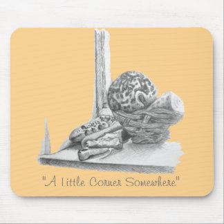 Todavía dibujo de la vida de las cáscaras, de los alfombrilla de ratones