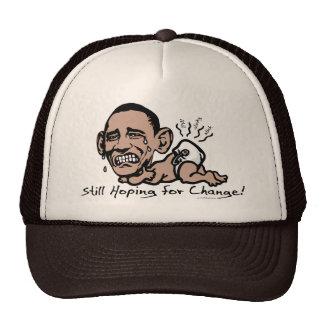 Todavía esperando el engranaje de Anti-Obama del Gorras De Camionero