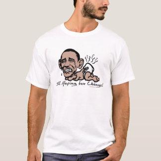 Todavía esperando el engranaje de Anti-Obama del Playera