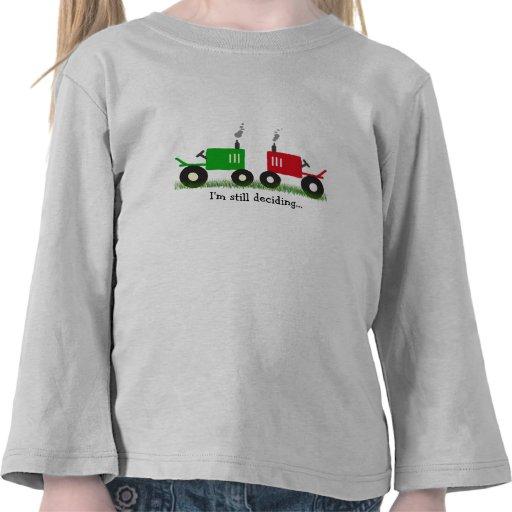 Todavía estoy decidiendo la camisa del tractor en