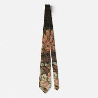 Todavía flores de la vida, Barroco floral del Corbata