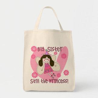 Todavía hermana grande la princesa bolsas lienzo