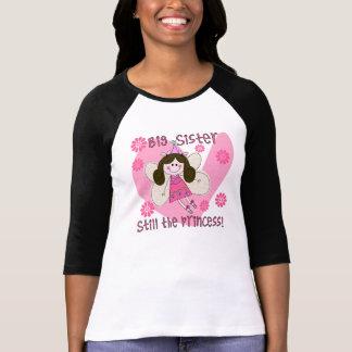 Todavía hermana grande la princesa camisetas
