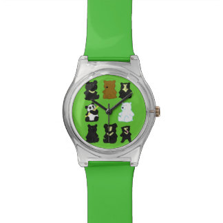 Todavía hora de ahorrar osos relojes