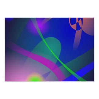 """Todavía iluminación de vida en la oscuridad invitación 5"""" x 7"""""""