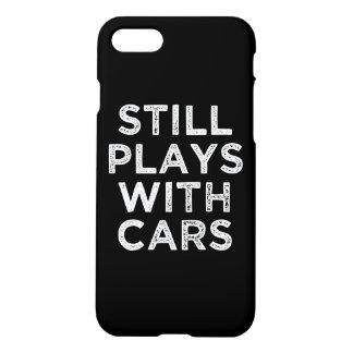 Todavía juegos con la caja divertida del teléfono funda para iPhone 7