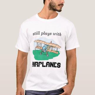 todavía juegos con los aeroplanos playera