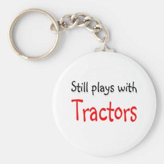 Todavía juegos con los tractores llavero personalizado