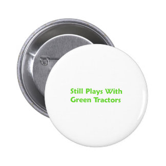 Todavía juegos con los tractores verdes pins