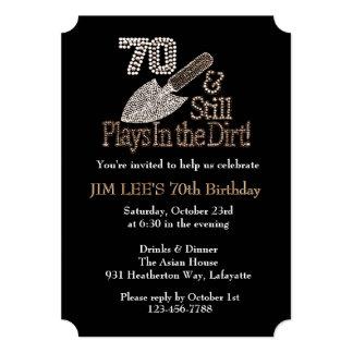Todavía juegos en fiesta de cumpleaños de la invitación 12,7 x 17,8 cm