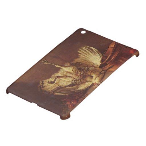 Todavía la vida con el pavo colgó por Jean Chardin