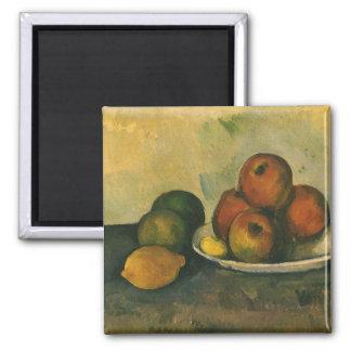 Todavía manzanas de la vida w por Cezanne, arte Iman De Nevera