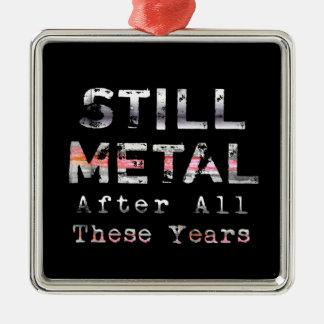 Todavía metal después de todos estos años ornamentos para reyes magos