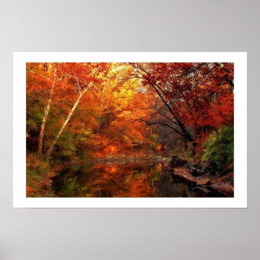 Todavía otoño póster