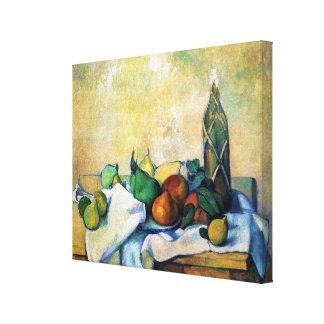 Todavía ~ Paul Cézanne de la vida Impresión En Lona