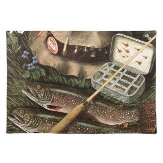 Todavía pesca de vida manteles individuales